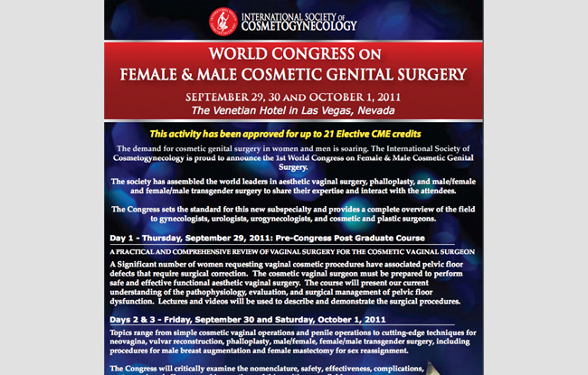 UROGINECOLOGIA: Labioplastia. Incontinencia Urinaria. Prolapso. Rejuvenecimiento vaginal.